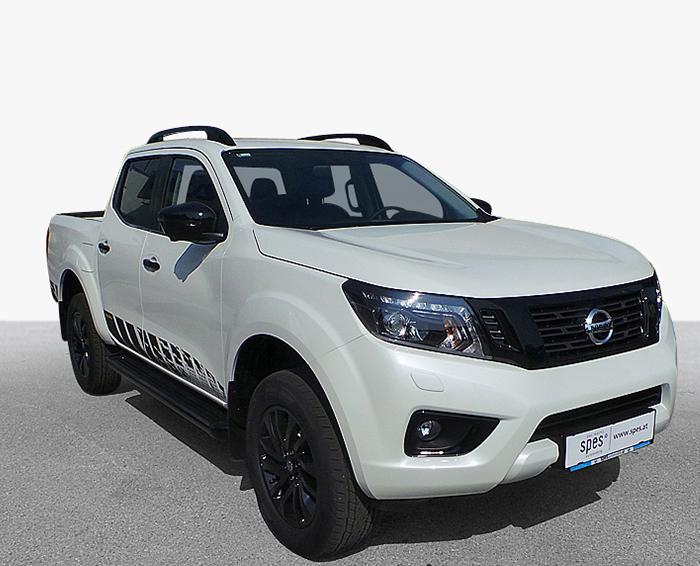 Nissan Navara Weiß